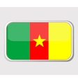 flag of cameroon vector image vector image