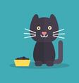 Cat food vector image vector image