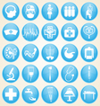 Medical icons collection vector image