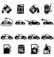 Set of Different Fuel icons vector image