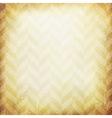 Vintage chevron pattern old paper background vector image