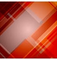 Abstract red technical background vector image
