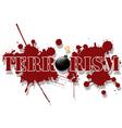 Terrorism vector image