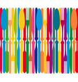dining color plate vector image