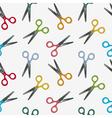 scissor pattern vector image