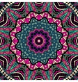 Abstract geometric ethnic seamless pattern vector image