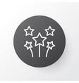 celebration fireworks icon symbol premium quality vector image