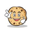 Have an idea sweet cookies character cartoon vector image