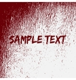 Red Bloow Splatter Texture vector image