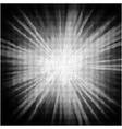 Burst halftone background vector image vector image
