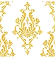 Abstract gold dust glitter damask seamless vector image vector image