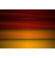 background red orange stripe vector image
