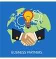 Business Partners Concept Art vector image