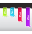 set of tag labels vector image