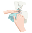 Sewing vector image