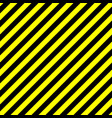 Seamless background pattern of yellow and black vector image