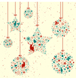 Vintage Christmas Elements vector image