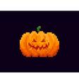 Pixel Halloween Lantern vector image