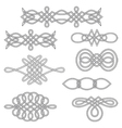 Interlaced decorations vector image