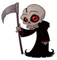 little grim reaper vector image