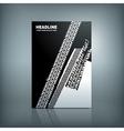Tire Brochure vector image