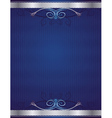 blue antique background vector image