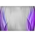 background two side purple vector image