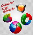 geom logos vector image