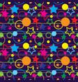 seamless magic pattern vector image