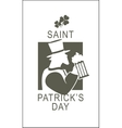 Template flyer St Patricks Day vector image