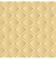 Seamless gold background pattern vector image