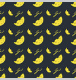 seamless pattern with cheese on a dark background vector image