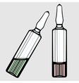Ampoules vector image