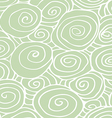 Waves hand-drawn pattern abstract background curle vector image