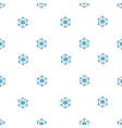 Global Web Structure Flat Seamless Pattern vector image