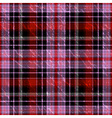 seamless checkered grunge pattern vector image