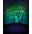 mystic background vector image