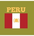 peru country flag vector image