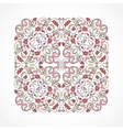 vintage pattern in Eastern style vector image