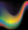 Colorful wave vector image