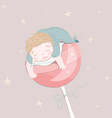 sweet dreams vector image vector image