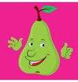pear character vector image