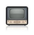 Vintage retro tv set icon vector image vector image