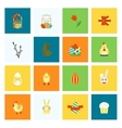 Celebration Easter Icons vector image