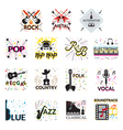 Music Genres vector image