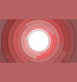 red modern circles copy space abstract background vector image