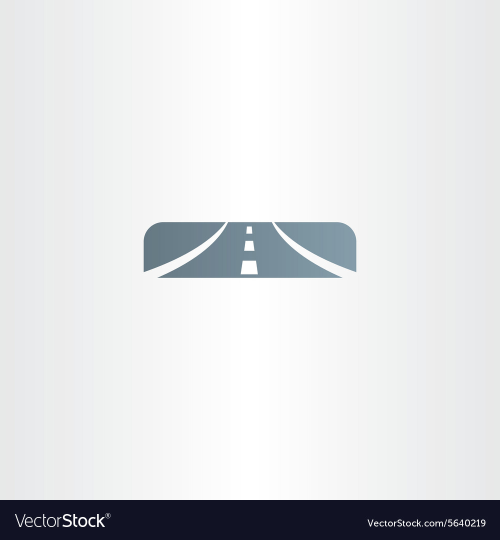 Highway icon sign logo vector