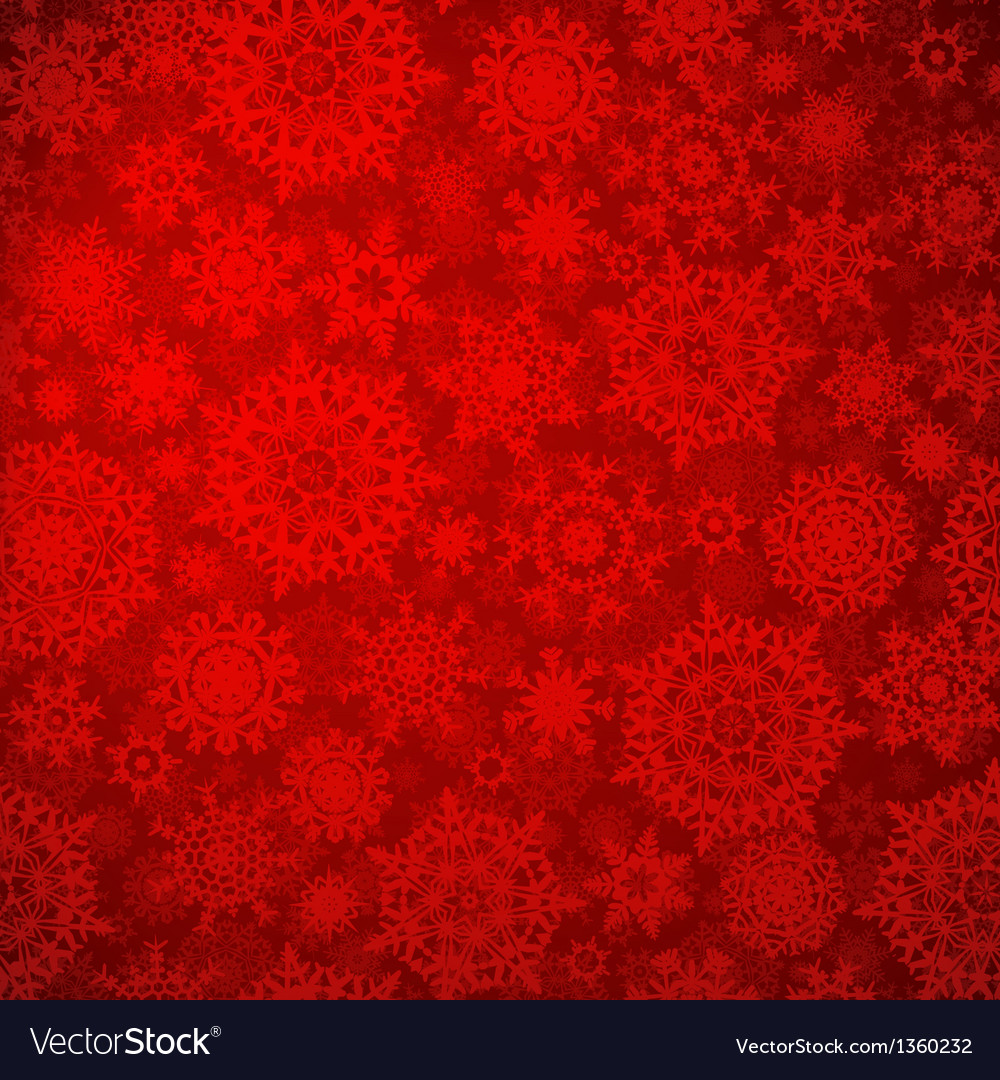Seamless deep red christmas pattern eps 8 vector