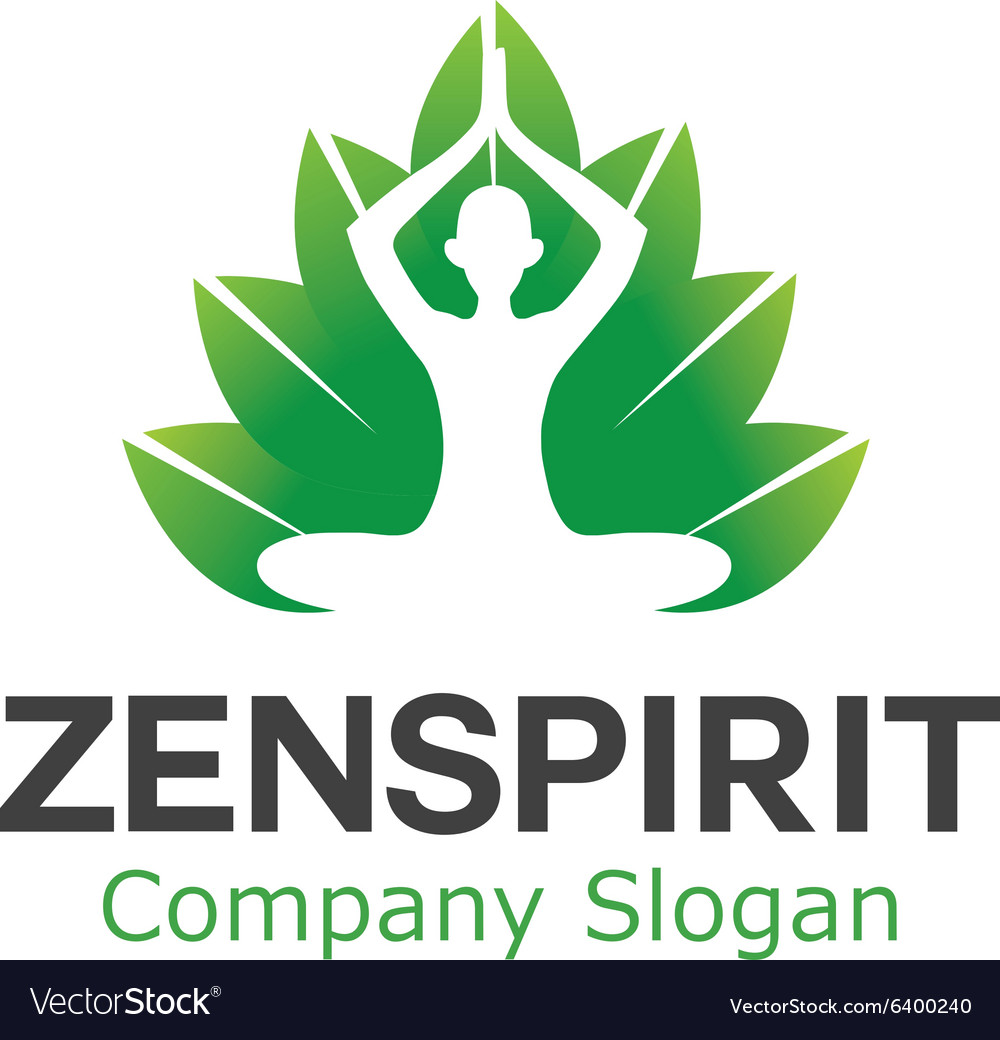 Zen spa spirit design vector