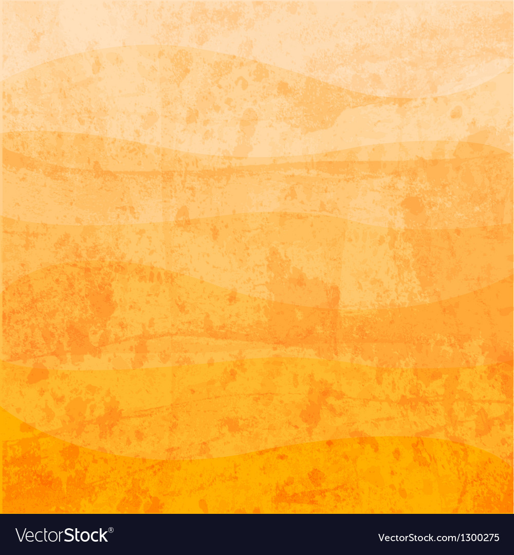 Abstract orange shade vector